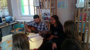 Ana au lycée Saint Joseph de Bucquoy