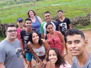 Les deux volontaires d'Aire-sur-la-Lys accueillis au Brésil
