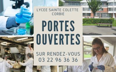 Les métiers du laboratoire vous accueillent au lycée Sainte Colette de Corbie