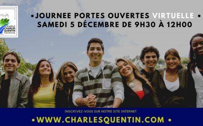 L'institut Charles Quentin organise des Journées portes ouvertes virtuelles