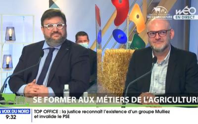 Le CNEAP Hauts-de-France au salon régional virtuel de l'agriculture